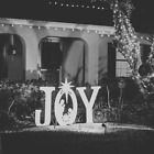Teak Isle Christmas Joy Nativity Yard Sign