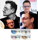 BONO SUNGLASSES SHIELD STAR MULTI COLOR CONCERT TOUR blue pink brown clear