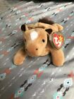 TY DERBY the HORSE BEANIE BABY with STAR & COARSE MANE - MINT TAGS