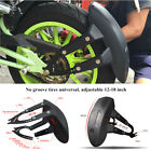 1xMotorcycle Rear Wheel Fender Mud Flap Protect License Plate Frame Splash Guard