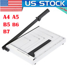 Paper Cutter A4 Paper Trimmer Photo Guillotine Craft Machine with Heavy Duty HOT