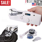 Portable Smart Mini Electric Tailor Stitch Hand held Clothes Sewing Machine Home