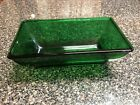 Anchor Hocking Forest Green Rectangle Dish