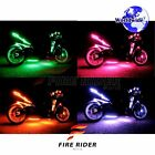For Husqvarna TE250 4 Pcs RGB Light Strips 95mm Bendable Fairing Frame Design