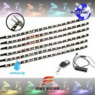 For Suzuki GSX1300R 6 Pcs RGB Light Strips 290mm Bendable Fairing Frame Design