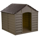 Augie Dog House Sturdy Durable Pet Outdoor Weather Resistant Shelter Portable
