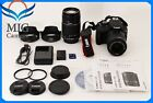 Mint Canon EOS Kiss x7 Rebel SL1 100D Digital SLR Body Lens 2Set from Japan35