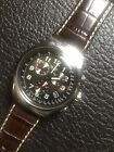 Swatch Watch Chronograph Irony YOS413 YOUR TURN Rare New Leather Band Swiss Date