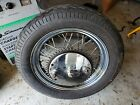 1974 Harley-davidson Sportster XLH 1000 Rear  Wheel Rim ,Tire MT90S16 ARROW ST/S