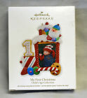 MY FIRST CHRISTMAS,Yr 2011 Hallmark Ornament,CHILD'S AGE COLLECTION  NEW IN BOX