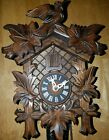 Black Forest Cuckoo Clock -Complete -Works but needs a little TLC-