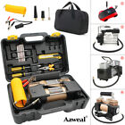 12V Car Tyre Auto Tire Inflator Pump Air Compressor 150PSI Portable Heavy Duty