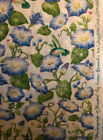 Susan Branch Language of Flowers Rare Morning Glory Fabric BTY 2 YDS Avail