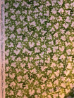 Susan Branch Language of Flowers Rare Green Leaves Fabric BTY 4 Yards Avail