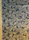 Susan Branch Language of Flowers Rare Blue Blossom Fabric BTY 3 YDS Avail