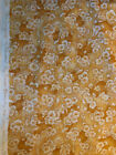 Susan Branch Language of Flowers Rare Yellow Blossom Fabric BTY 3 YDS Avail
