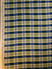Susan Branch Language of Flowers Rare Plaid Fabric BTY 3 YDS Avail