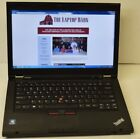 Lenovo ThinkPad T430 Laptop 26GHz 3320m Core i5 8GB 320GB Webcam