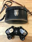 VTG SELSI 6x25 Binoculars Field Glasses Wide Angle  Original Leather Case