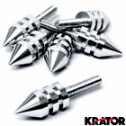 Universal Chrome Motorcycle Spike Bolts (Windscreen, Fairings, License Plate)