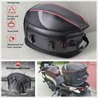 Large Capacity Motorcycle Tail Bag Back Seat Luggage Storage Bag w/Rain Cover-US