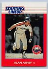 1988  ALAN ASHBY - Kenner Starting Lineup Card - HOUSTON ASTROS