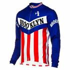 Team Brooklyn Long Sleeve Retro Cycling Jersey