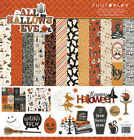 Scrapbooking Crafts PP 12X12 Paper Pack All Hallows Eve Halloween Ghosts Witch