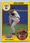 1991  DOUG DRABEK - Kenner Starting Lineup Card - PITTSBURGH PIRATES