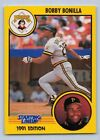 1991  BOBBY BONILLA - Kenner Starting Lineup Card - PITTSBURGH PIRATES