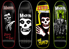 MISFITS x ZERO Skateboards Full Set of 4 Old School Shaped Limited Edition Decks