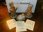 Studio Hummel Berta Joseph Baby Jesus Mary Goebel Nativity cert box