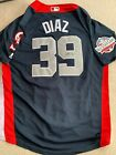 Edwin Diaz Signed Jersey Custom 2018 All Star Game New York Mets Adult Large