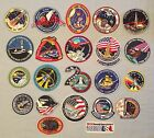 NASA PATCHES LOT of 22 Space Program  Shuttle STS Mission Skylab Spacelab ++++