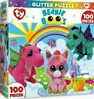 NIB Masterpieces Brand TY Beanie Boo's100 Piece Glitter Puzzle