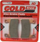 Kymco Jetix 50 Brake Disc Pads Rear R/H Goldfren 2010