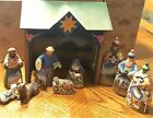 Jim Shore 10 piece Nativity Set 2004 C0000 402 Heartwood Creek