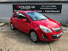 Vauxhall Corsa 12i 16v a c Excite 1 Owner 0 Deposit Finance Ideal First Car PX
