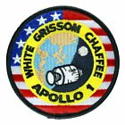 Apollo 1 Mission Patch Official Nasa Edition Made in USA White Grissom Chaffee