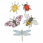 Sizzix Thinlits Die Set 5PK 663423 Insects by Jennifer Ogborn