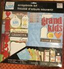 My Grand Kids Me and My Big Ideas 12 x 12 Scrapbook Page Kit
