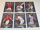 (6) 2018 TOPPS THROWBACK THURSDAY TBT #15 HARDBALL ROYALTY 6 CARD SET MIKE TROUT