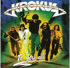 Krokus - To You All RARE NEW CD! FREE SHIPPING!