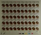 US SCOTT 2202 PANE OF 50 LOVE DOG STAMPS 22 CENT FACE MNH