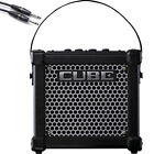 Roland Micro Cube GX Battery Powered Guitar Amplifier with 10 Cable