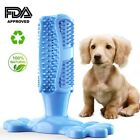 Pet Dog Toothbrush Stick Dog Teeth Cleaning Chew Toy Silicone Dental Care Brush