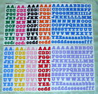 Creative Memories ABC 123 Bold Style Stickers Various Colors Yo