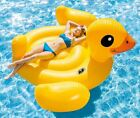 Best Pool Floats For Adults Women Teens Big Duck Inflatable Raft Water Floating