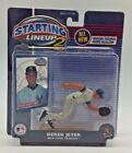 Derek Jeter MLB Starting Lineup 2 Figure And Collector Card New