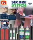 Secure Stitch Liquid Sewing Solution Kit 7 Pieces Set As Seen On TV NEW